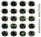 Robot Faces Emotion Set