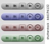 change directory icons on... | Shutterstock .eps vector #666196132