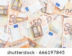 Detail Of Banknotes Of The...