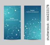 set of vertical banners.... | Shutterstock .eps vector #666222178