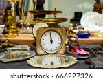 variety of old interesting... | Shutterstock . vector #666227326