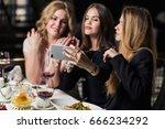 people  holidays  celebration... | Shutterstock . vector #666234292