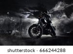 detail of high power motorcycle ... | Shutterstock . vector #666244288