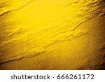 golden texture pattern abstract ... | Shutterstock . vector #666261172