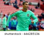 moscow  russia   june 21  2017. ... | Shutterstock . vector #666285136