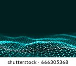 3d rendering abstract... | Shutterstock . vector #666305368