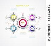 vector infographic business...   Shutterstock .eps vector #666312652