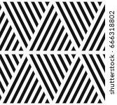 black diagonal lines on white... | Shutterstock .eps vector #666318802