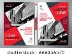 business brochure. flyer design.... | Shutterstock .eps vector #666356575