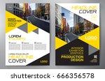 business brochure. flyer design.... | Shutterstock .eps vector #666356578