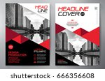 business brochure. flyer design.... | Shutterstock .eps vector #666356608
