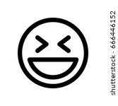 laughing emoji | Shutterstock .eps vector #666446152