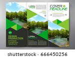 business brochure. flyer design.... | Shutterstock .eps vector #666450256