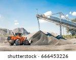 quarry stones for construction... | Shutterstock . vector #666453226