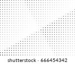 abstract halftone dotted... | Shutterstock .eps vector #666454342