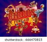cirsus banner | Shutterstock .eps vector #666470815