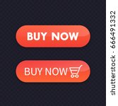 buy now  orange buttons for web ...