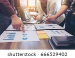 startup business people group... | Shutterstock . vector #666529402