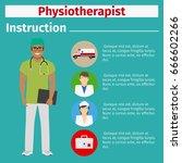 medical equipment instruction... | Shutterstock .eps vector #666602266