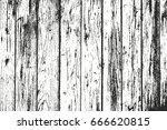distressed overlay wooden... | Shutterstock .eps vector #666620815
