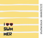 summer backgrounds collection.... | Shutterstock .eps vector #666632122