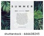 dark vector tropical typography ...