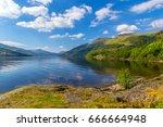 Loch Lomond At Rowardennan ...