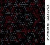 geometric random lines pattern. ...   Shutterstock .eps vector #666666436