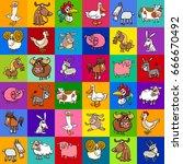 cartoon vector illustration of... | Shutterstock .eps vector #666670492