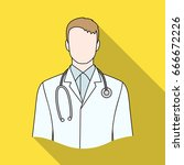 doctor.professions single icon... | Shutterstock . vector #666672226
