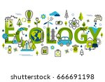 colorful vector illustration in ... | Shutterstock .eps vector #666691198