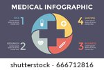 vector plus infographic ... | Shutterstock .eps vector #666712816