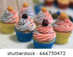 appetizing photo of a set of... | Shutterstock . vector #666750472