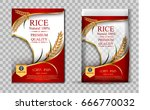 rice package thailand food logo ... | Shutterstock .eps vector #666770032
