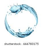 3d render  digital illustration ... | Shutterstock . vector #666783175