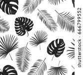 seamless hand drawn  vector... | Shutterstock .eps vector #666799552