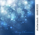 eps10 vector colorful christmas ... | Shutterstock .eps vector #66683020