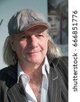 "Small photo of Academy Award Winning Director Pepe Danquart presented his documentary ""Lauf Junge Lauf"" at Frankfurt Bookfair 2014 / Buchmesse Frankfurt 2014"
