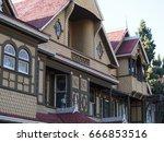 winchester mystery house | Shutterstock . vector #666853516