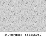 grey decorative plaster is... | Shutterstock .eps vector #666866062