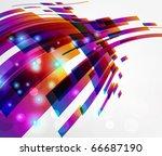 abstract background vector | Shutterstock .eps vector #66687190