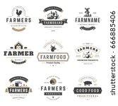 Farmers Market Logos Templates...