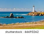 Pigeon Point Lighthouse On...