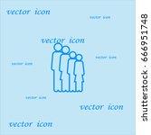 family  icon | Shutterstock .eps vector #666951748