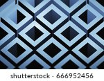 abstract image of cubes... | Shutterstock . vector #666952456