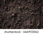soil  cultivated dirt  earth ... | Shutterstock . vector #666953062