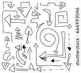 vector background. abstract... | Shutterstock .eps vector #666993046
