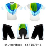 graphics colors on sports t... | Shutterstock .eps vector #667107946