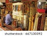 isfahan   october 2016  ... | Shutterstock . vector #667130392
