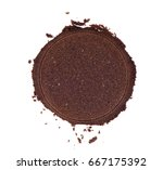 coffee tempering. used coffee... | Shutterstock . vector #667175392